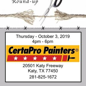 Fulshear Katy Area Chamber Rope Cutting for CertaPro