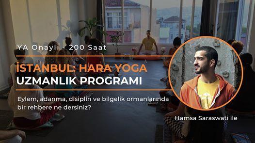 stanbul 200sa Hara Yoga Uzmanlk Program  Yoga Alliance