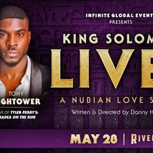 King Solomon Lives A Nubian Love Story at the Riverside Theater