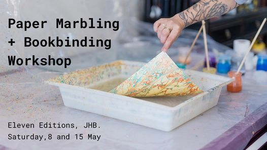 Paper Marbling + Bookbinding workshop | Event in Johannesburg | AllEvents.in