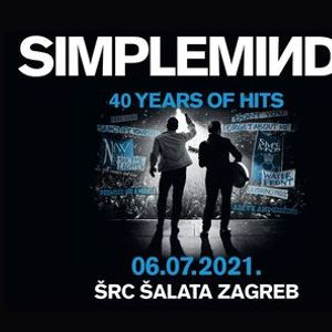Simple Minds u Zagrebu