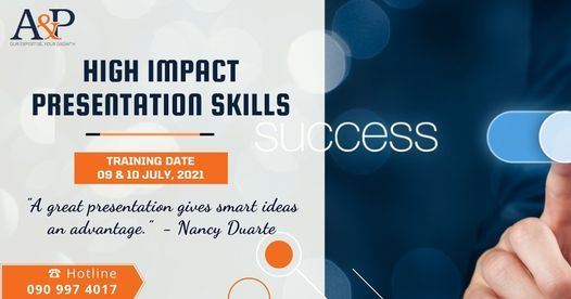 Signature Program: HIGH IMPACT PRESENTATION SKILL, 9 July   Event in Ho Chi Minh City   AllEvents.in