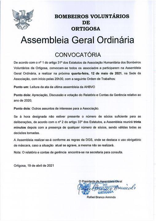 Assembleia Geral Ordinária   Event in Caldas Da Rainha   AllEvents.in
