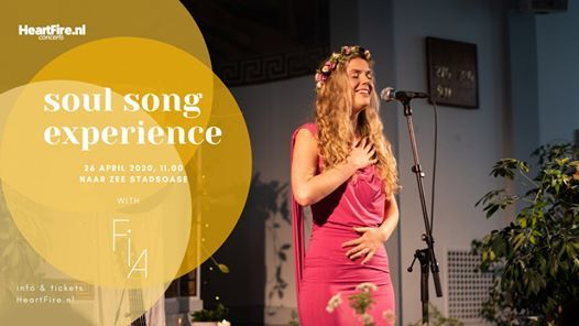 Soul Song Experience - A Workshop with Fia (Sold Out)