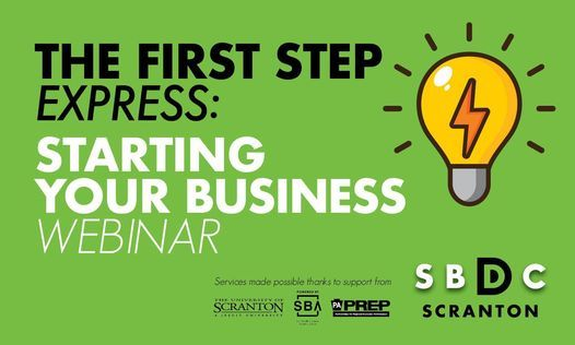 The First Step Express: Starting Your Business, 15 December | Online Event | AllEvents.in