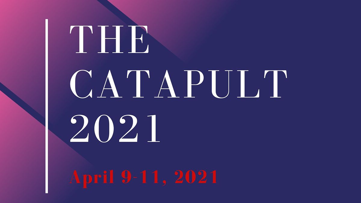 THE CATAPULT  2021, 9 April | Event in Beltsville | AllEvents.in