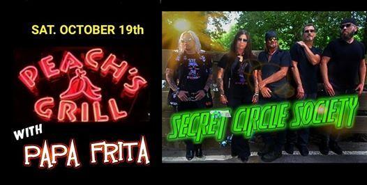 Secret Circle Society w Papa Frita   Peachs Grill