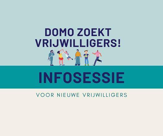 Infosessie vrijwilliger worden bij Domo Diest