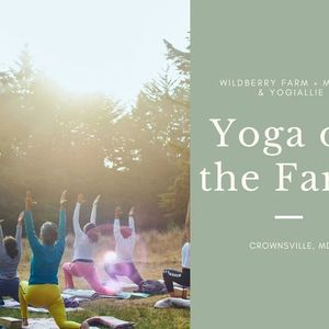 Yoga on the Farm Series May Day  Fire Festival
