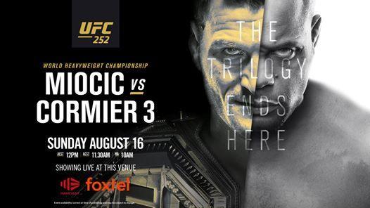 UFC 252 - Watch It Live
