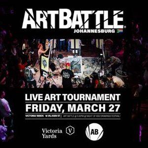 Art Battle Johannesburg - 27 March 2020