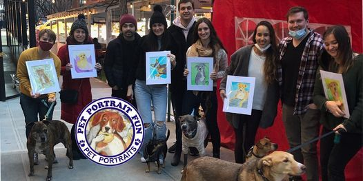 Sip and Paint a Pet Portrait Fun- Barking Dog New York | Event in Sunnyside | AllEvents.in