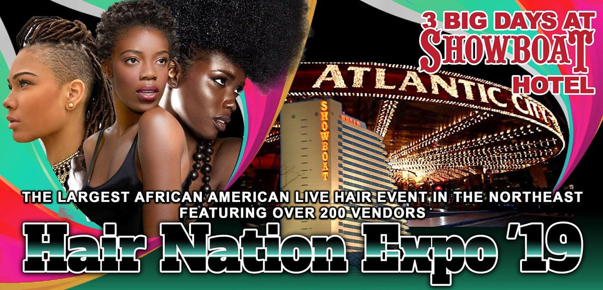 Hair Nation Expo Fall Show 2020  (3 DAY EVENT), 2 November | Event in Atlantic City | AllEvents.in
