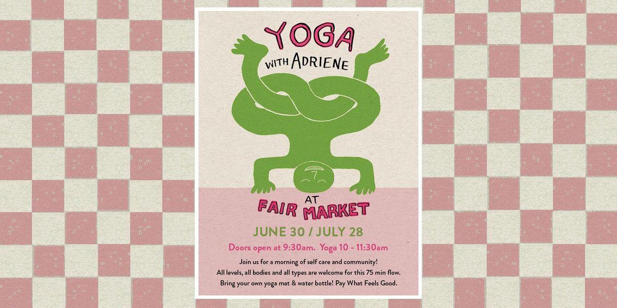 Yoga with Adriene at Fair Market | Austin