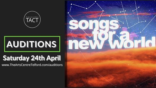 AUDITIONS - Songs For a New World, 24 April | Event in Albrighton | AllEvents.in