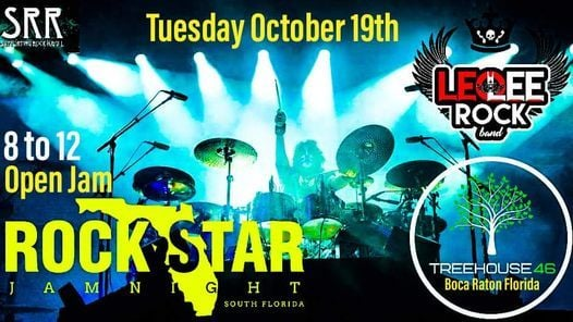 Open Jam Night at Tree House 46 in Boca Raton old Rockin Angels, 20 October | Event in Tema | AllEvents.in