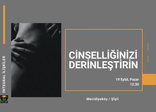 Cinselliğinizi Derinleştirin, 19 September   Event in Tekirdað   AllEvents.in