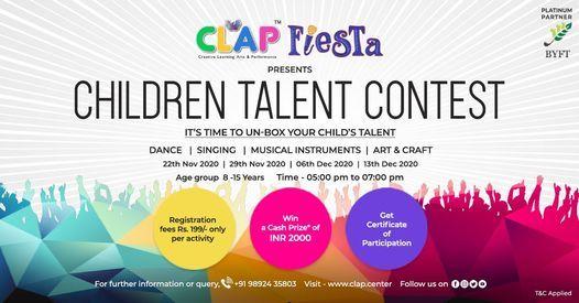 CLAP Fiesta presents Children Talent Contest | Event in Mumbai | AllEvents.in