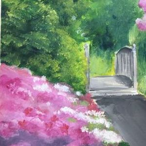 Acrylic Painting Course with Krystle December Session