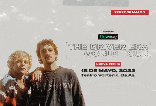 The Driver Era | 18 de mayo, 2022 en el Teatro Vorterix, 18 May | Event in Olivos | AllEvents.in