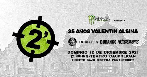 2 Minutos en Chile 2021 - LA FIESTA SIGUE EN PIE!, 30 May | Event in Santiago | AllEvents.in
