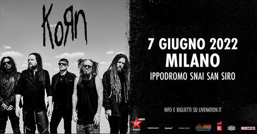 I Korn a Milano, 7 June | Event in Buccinasco | AllEvents.in