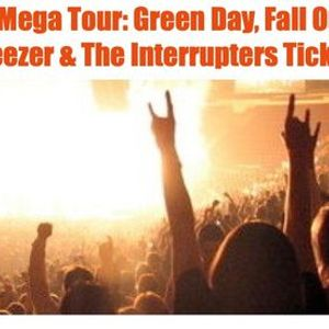 Hella Mega Tour Green Day Fall Out Boy Weezer Tickets SF
