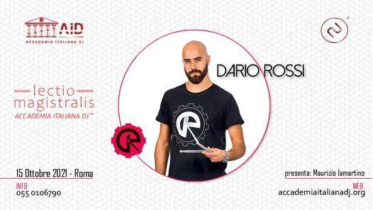 DARIO ROSSI: Lectio Magistralis by Accademia Italiana DJ   Event in Monterotondo   AllEvents.in