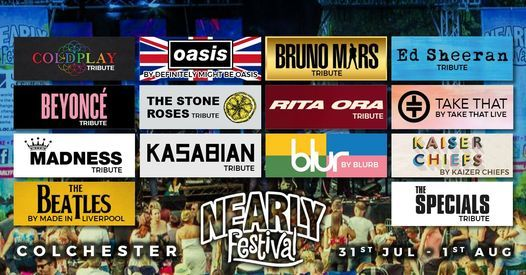 The Nearly Festival - Colchester 2021, 31 July | Event in Colchester | AllEvents.in