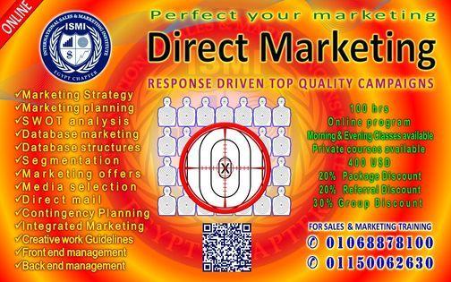 ✬ Direct Marketing ✬ Online Program | Event in Cairo | AllEvents.in