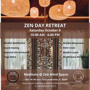 Zen Day Retreat