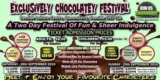EXCLUSIVLEY CHOCOLATEY FESTIVAL