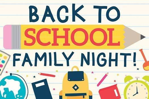Image result for back to school family night