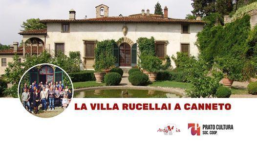 Visita La Villa Rucellai a Canneto