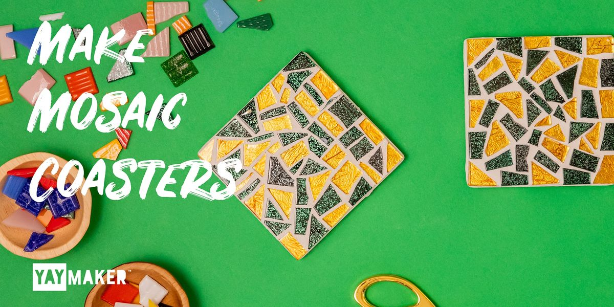Virtual: Mosaic Coaster Making and Sip party | Online Event | AllEvents.in