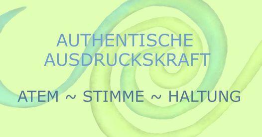 Die Kraft des Atems: Authentische Ausdruckskraft über Stimme und Haltung, 3 April   Event in Hamburg   AllEvents.in