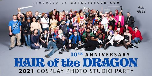 Hair Of The Dragon X (2021 Cosplay Photo Studio Party), 25 September | Event in Atlanta | AllEvents.in