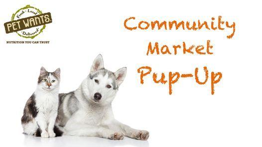 Community Market Pup-Up