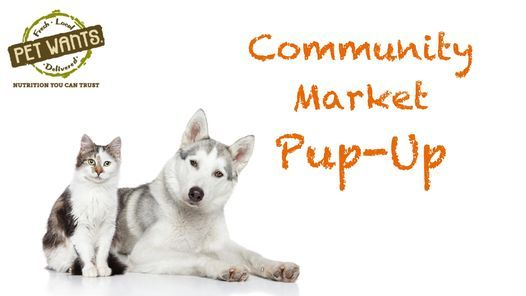 Community Market Pup-Up