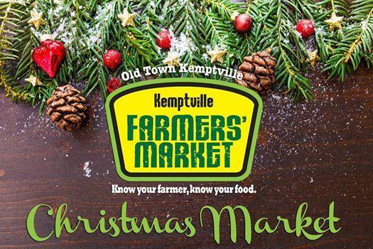Kemptville Farmers Market Christmas Market