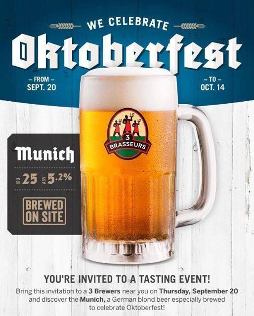 3 Brewers Munich beer launch
