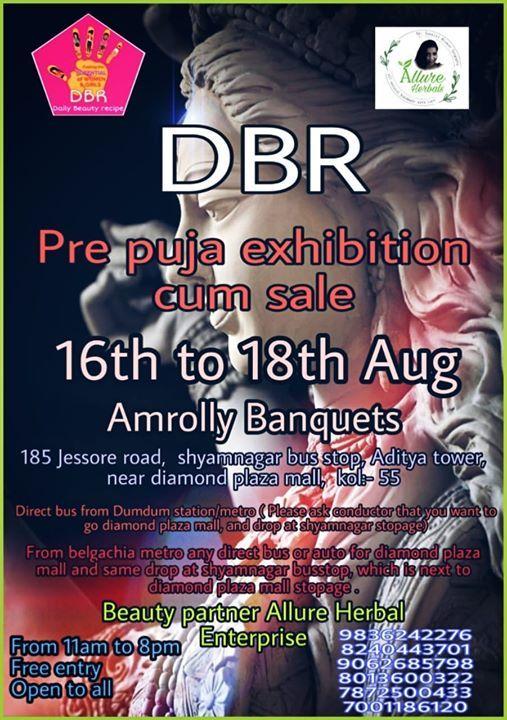 DBR Pre PUJO exhibition Come Sale
