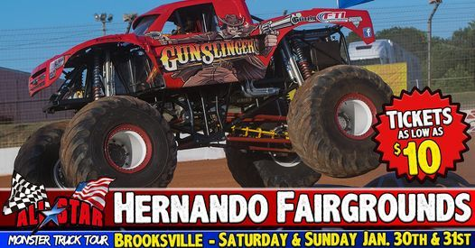 All Star Monster Trucks - Brooksville FL, 30 January | Event in Brooksville | AllEvents.in