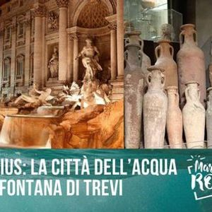 Vicus Caprarius la citt dellacqua sotto fontana di Trevi
