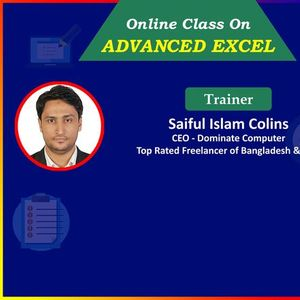 Advanced Excel Course  Get 80% Scholarship