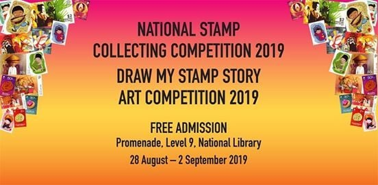 National Stamp Collecting & Draw My Stamp Story Art