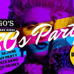 80s Party at Chicagos Randpark - best dressed prizes