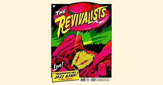 NEW DATE - The Revivalists - Red Rocks | Online Event | AllEvents.in