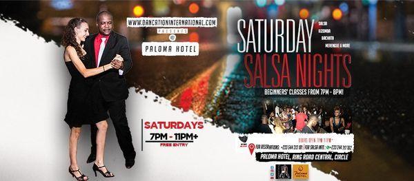 Dancation International Saturday Salsa Nights | Event in Accra | AllEvents.in