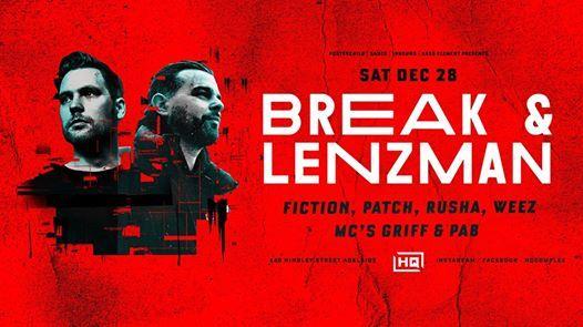 Break & Lenzman  DnB Party Of The Year